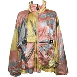 Multicolor Long Sleeve Zip Up Windbreaker by Ixspa