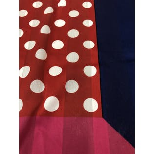 Multicolor Polka Dot Scarf by A.brod