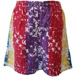 Multicolor Tie Dye Shorts by Even Keel