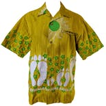 Mustard Hawaiian Short Sleeve Button Upby Napili