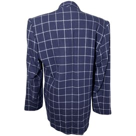 Navy Gridline Blazer by Vp Collection