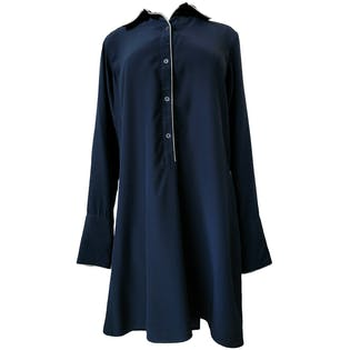 Pyjama Style Shirt Dress by Nili Lotan