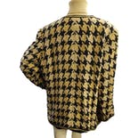another view of Oversized Houndstooth Blazer by Browstone