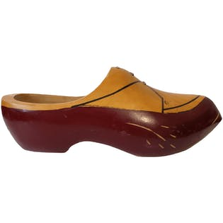 Oxford Style Painted Clogs