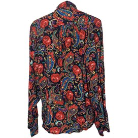 Paisley and Rose Button Down by Chaus