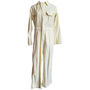 Pale Yellow Coveralls