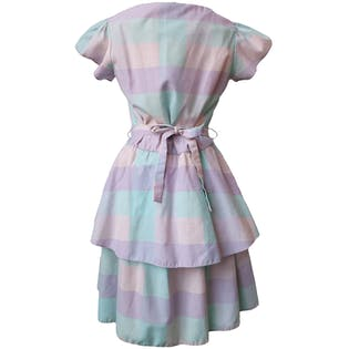 Pastel Short Sleeve Dress