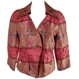 Pink and Gold Brocade Blazer by Christian Lacroix