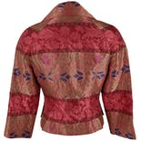 another view of Pink and Gold Brocade Blazer by Christian Lacroix