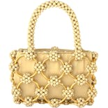 60's Italian Beaded Cluster Micro Mini Handbag by Avanti