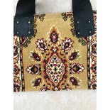 another view of Carpet Bag Purse