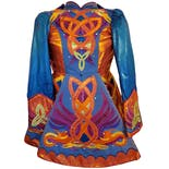 Colorful Applique Costume Dress