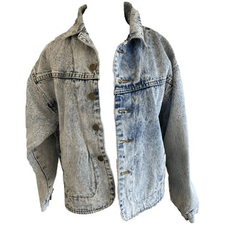 Acid Wash Denim Jacket by Get!