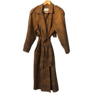 Oversized Trench Coat by Towne By London Fog