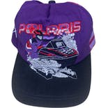 90's Polaris Indy Ultra Embroidered Snapback Hat by K-Products