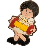 80's Deadstock Cabbage Patch Kid Pin