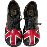 90's Union Jack Flag Loafers by City Snappers