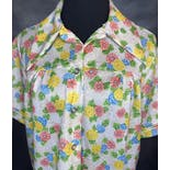 another view of 70's Butterfly Collar Smock Top