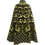 another view of 70's Incredible Woven Medallion Tapestry Cape Coat