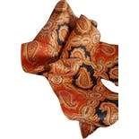 another view of 60's Paisley Print Tie Scarf