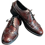 another view of 70's Men's Wingtip Oxford Brogues by Florsheim Shoes
