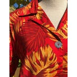 another view of Rayon Hawaiian Shirt Abalone Button Up by Impressions