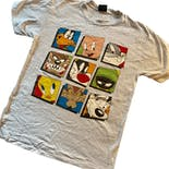 90's Looney Tunes Men's Single Stitch T-Shirt by Garment Graphics