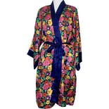 90's Gold Label Floral Kimono Robe by Victoria's Secret