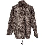 another view of 90's Animal Print Fleece by S.k Pepper