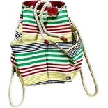90's Stripe Canvas Backpack by Tommy Hilfiger