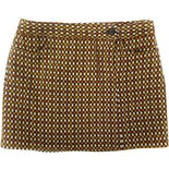 00's Mod Wool Tweed Mini Skirt by Anna Sui