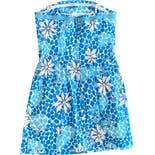 another view of 00's Floral Leopard Tube Dress by Lilly Pulitzer
