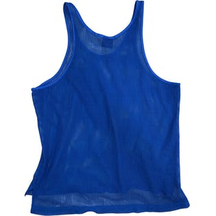 90's Blue Mesh Tank Top by Nike