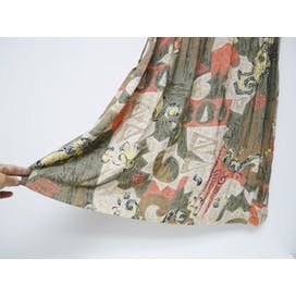 80's Abstract Print Midi Skirt by Sag Harbor