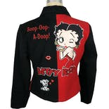 another view of 90's Betty Boop Jacket by Jh Design