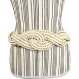 Cream Woven Rope Belt