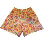 70's/80's Yellow Floral Shorts