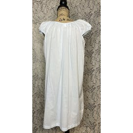 70's Cotton Blend Summer Nightgown by Sears
