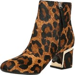 another view of Leopard Print Calf Hair Ankle Boots by Dkny