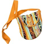 another view of 80's Bright Textured Knit Crossbody Purse by Coogi