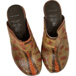 another view of Genuine Watersnake Clogs by Forro Puerco