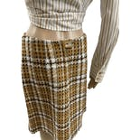 another view of 60's Plaid Skirt by Primstyle