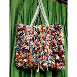 another view of Multicolor Rag Bag