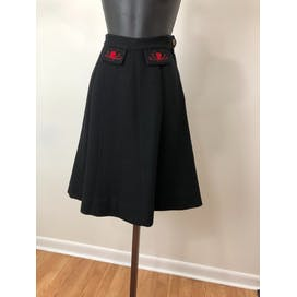 40's Two Piece Wool Skirt Set by Lanz Of Salzburg