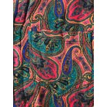 another view of 90's Colorful Paisley Button Down by Guess? Georges Marciano