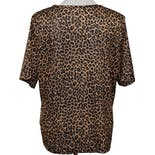 another view of 80's Animal Print Silky T-Shirt by Blair