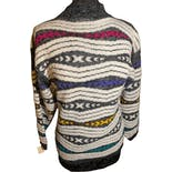 another view of 80's Pattern Low Turtleneck Sweater
