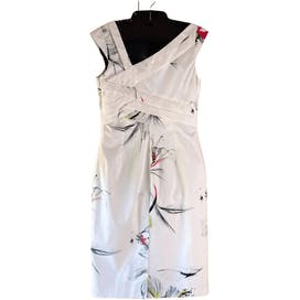Pleated Floral Dress by Karen Millen