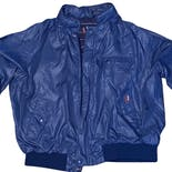 90's Men's Blue Double Pocket Zip Up Windbreaker by PGA Tour