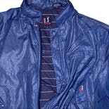 another view of 90's Men's Blue Double Pocket Zip Up Windbreaker by PGA Tour